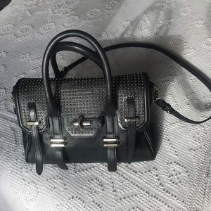 Rebecca Minkoff Structured leather satchel handbag